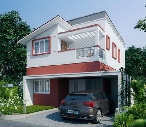 Shriram Santrupthi Independent Villas Elevation