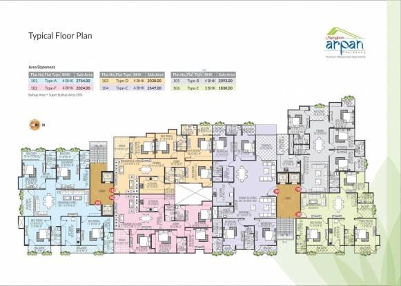 Manglam Arpan Residency Cluster Plan