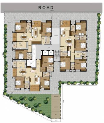 Altis Sri Lakshmi Vilas Cluster Plan