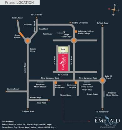 Felicity Emerald Location Plan