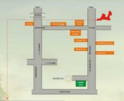 Felicity Naturewoods Location Plan