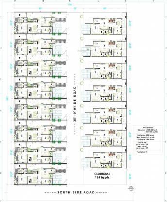 Veerabhadra Fort View Villas Site Plan
