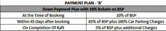 Alpha Heights Payment Plan