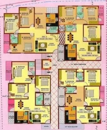 Sree Nakoda Kishor Paramount Cluster Plan