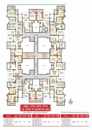 Maple Sai Krupa Residency Cluster Plan
