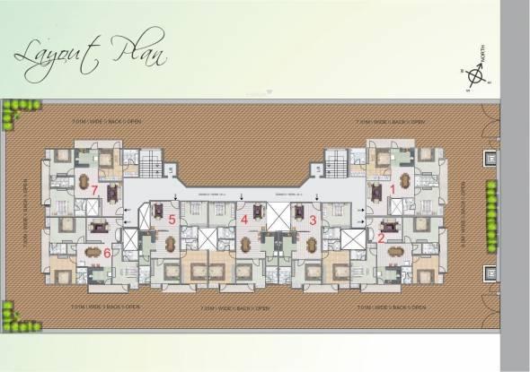 Nalanda Grand Layout Plan