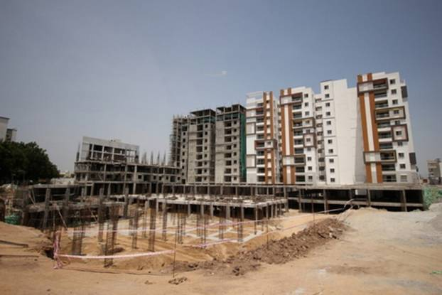 Modi Mayflower Grande Construction Status