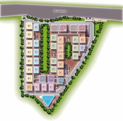 Modi Mayflower Grande Layout Plan