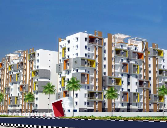 Modi Mayflower Grande Elevation