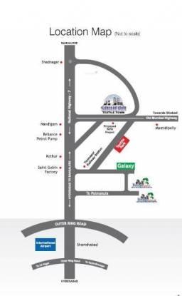 Sawera Textile Town Location Plan