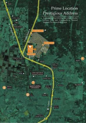 Alpha Alpha International City Location Plan
