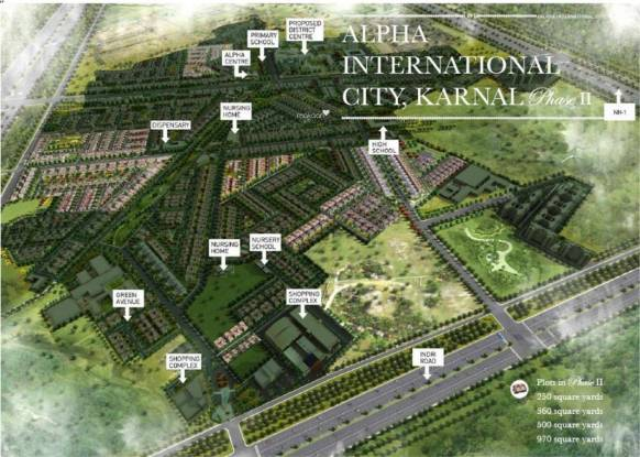 Alpha Alpha International City Master Plan