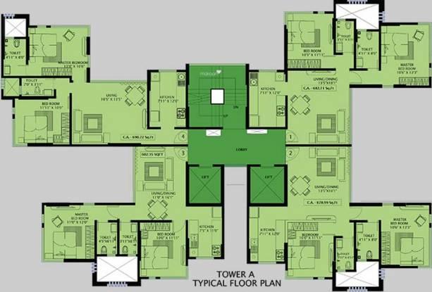 Kanakia Aroha Cluster Plan