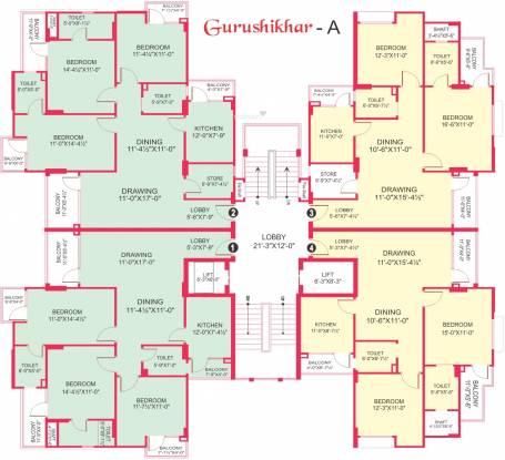 Gurupragya Gurushikhar Cluster Plan