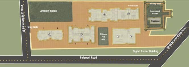 Icon Windsor Residency Villas Site Plan