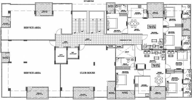 Kotecha Royal Florence Cluster Plan
