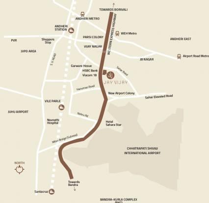 Kolte Patil Jai Vijay CHSL Phase I Location Plan