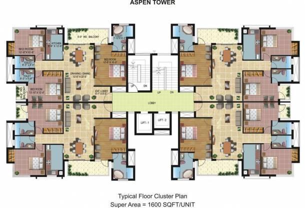 Omaxe Spa Village Cluster Plan