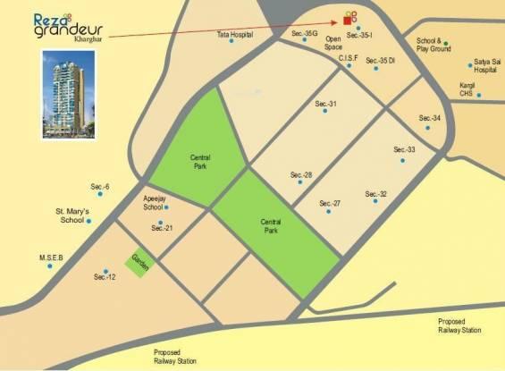 Reza Grandeur Location Plan
