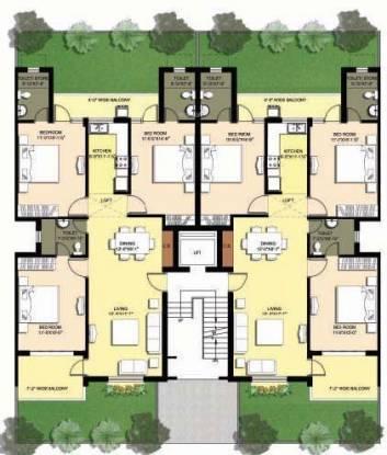 Omaxe Royal View Premier Cluster Plan