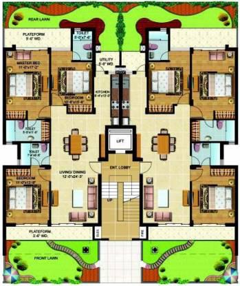 Omaxe Royal View Homes Cluster Plan