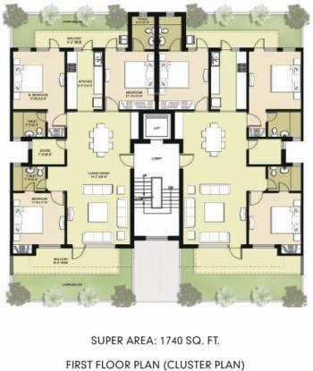 Omaxe Royal View Executive Cluster Plan