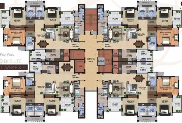 Shalimar Gallant Cluster Plan