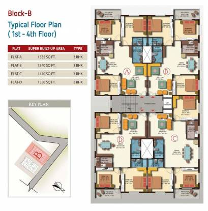 GM Meena Glory Cluster Plan