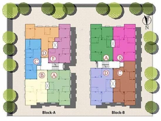 GM Meena Glory Site Plan