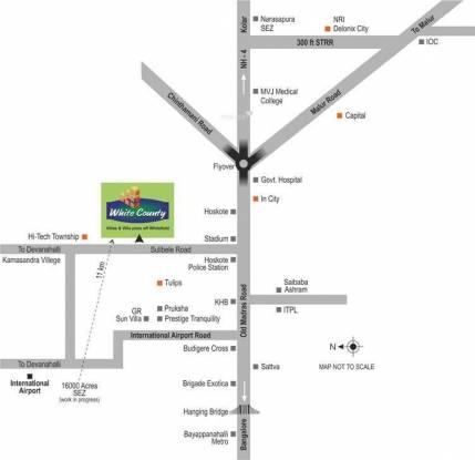 Tekton White County Location Plan