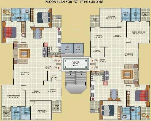 Green Arcade Cluster Plan