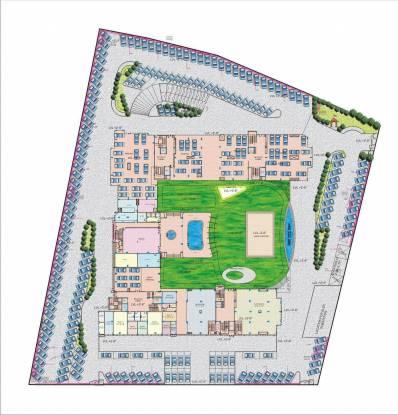 Platinum Rosewood Apartments Site Plan