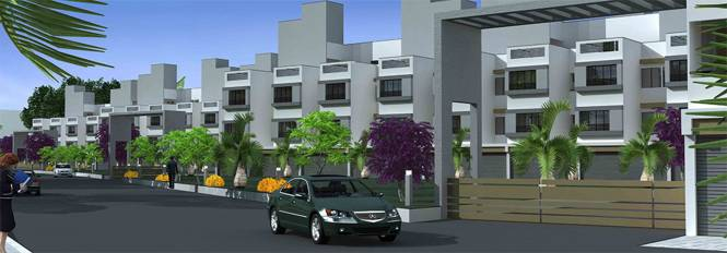 Khyati Green City Elevation