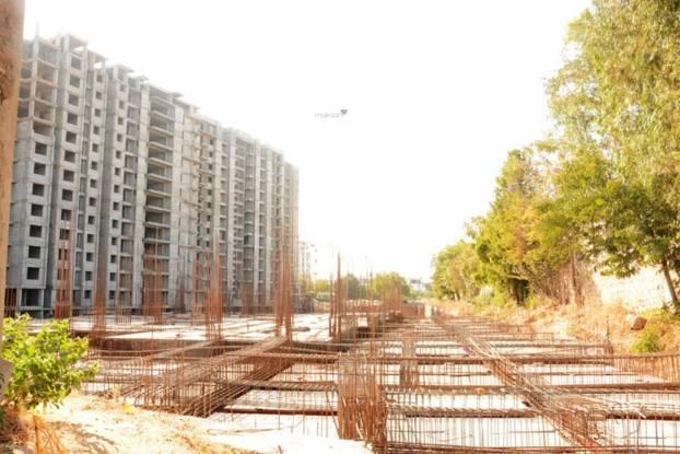 Adarsh Hyde Park Construction Status