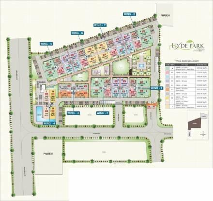 Adarsh Hyde Park Master Plan
