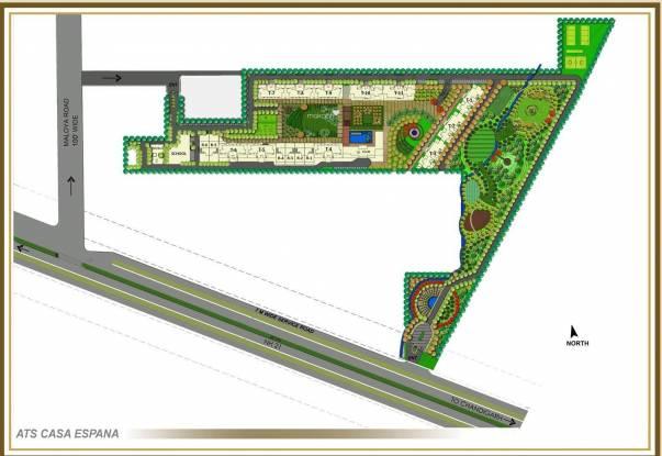 ATS Casa Espana Villa Layout Plan