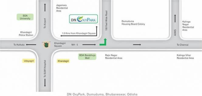 DN Oxy Park Location Plan