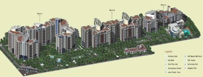 Sahara Grace Villa Layout Plan