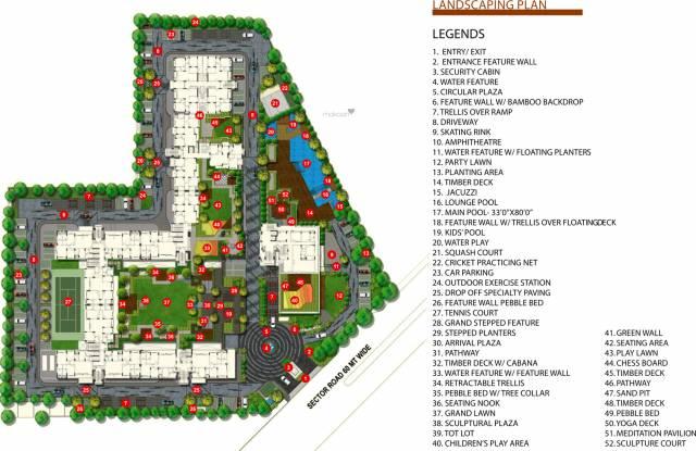 Mahima Elanza Site Plan