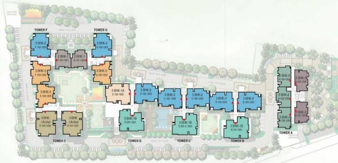 Mahima Panache Layout Plan