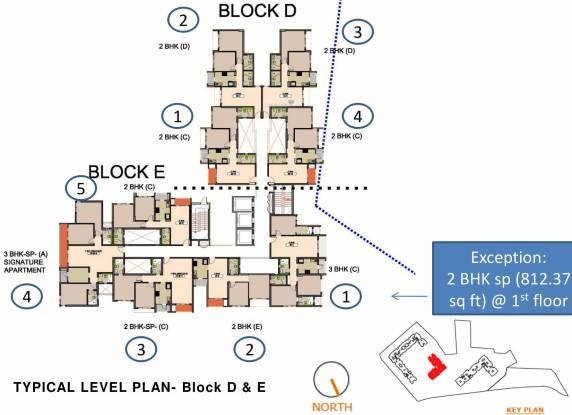 Godrej City Woods Panvel Ph 1 Cluster Plan