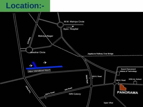 Mahima Panorama Location Plan