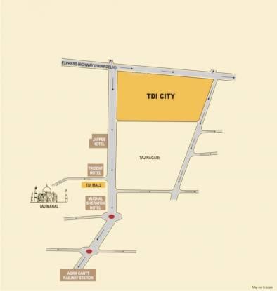 TDI TDI City Location Plan