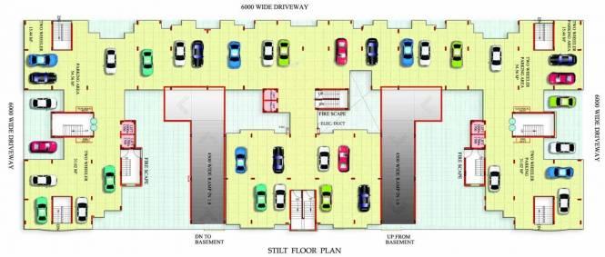 Astha Retreat Cluster Plan