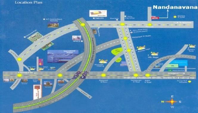 SaiCharan Nandananavana Location Plan