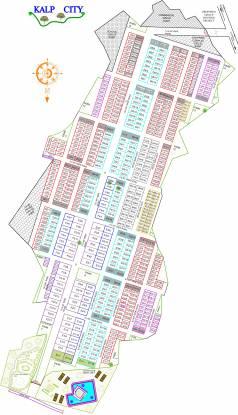 GSR Builders And Developers Kalp City Layout Plan