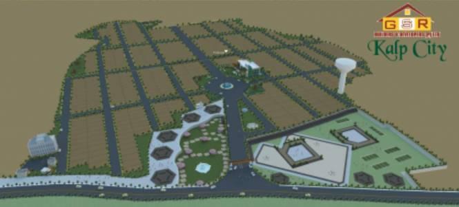 GSR Builders And Developers Kalp City Site Plan