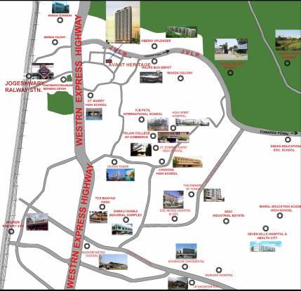 Avant Heritage Location Plan
