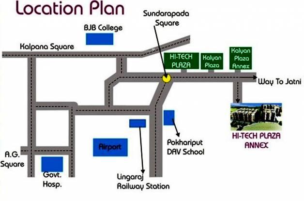 Hi Tech Hi Tech Plaza Annex Location Plan