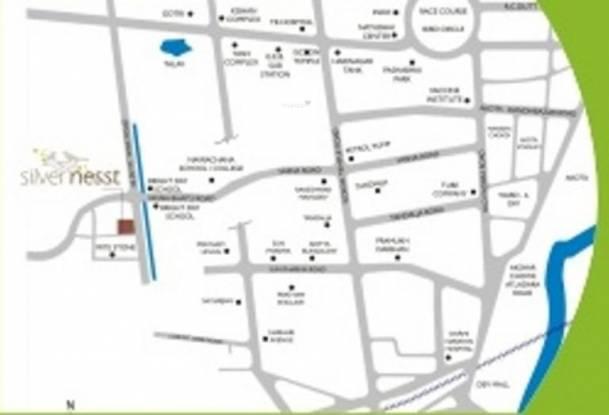 Milestone Silver Nest Location Plan